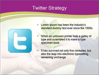 Palms PowerPoint Template - Slide 9