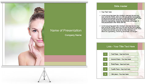 Skin PowerPoint Template