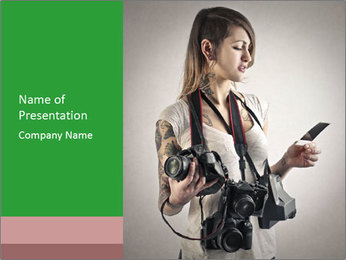 Photograph PowerPoint Templates - Slide 1