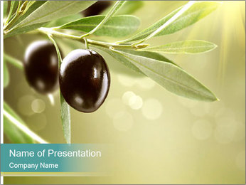 Olives PowerPoint Template