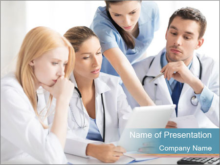 Young team PowerPoint Template