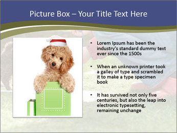 Puppy in the garden PowerPoint Template - Slide 13