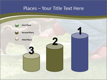 Puppy in the garden PowerPoint Template - Slide 65