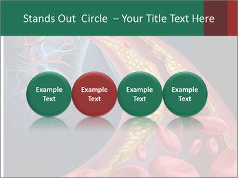 Human artery PowerPoint Template - Slide 76