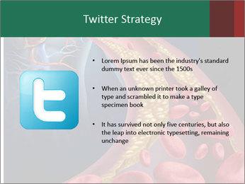 Human artery PowerPoint Template - Slide 9