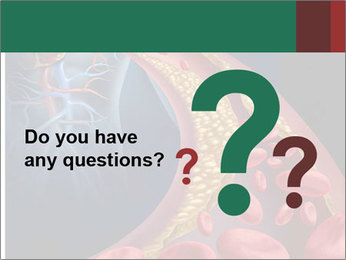 Human artery PowerPoint Template - Slide 96