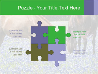 Two horses PowerPoint Templates - Slide 43