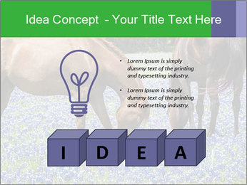 Two horses PowerPoint Template - Slide 80