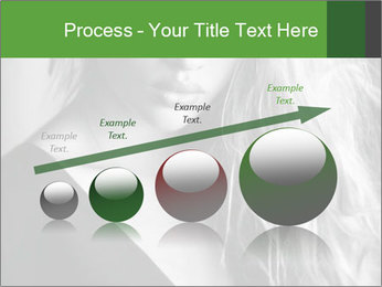 Woman posing PowerPoint Template - Slide 87