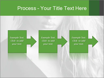 Woman posing PowerPoint Template - Slide 88