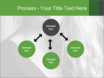 Woman posing PowerPoint Template - Slide 91