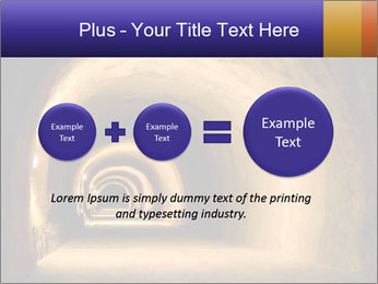 Tunnel PowerPoint Template - Slide 75