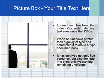 Silhouettes of business PowerPoint Template - Slide 13