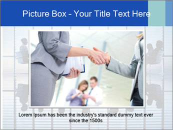 Silhouettes of business PowerPoint Template - Slide 15