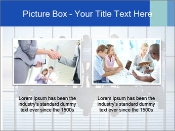 Silhouettes of business PowerPoint Template - Slide 18