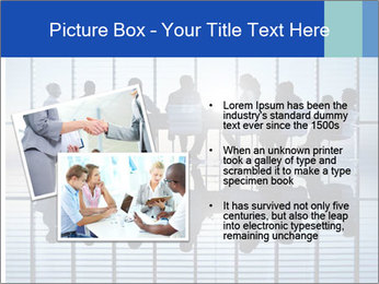 Silhouettes of business PowerPoint Template - Slide 20