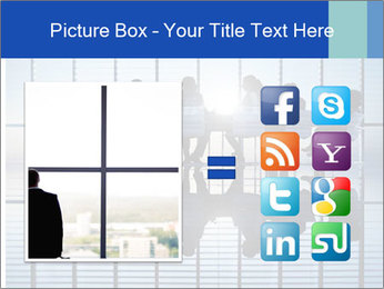 Silhouettes of business PowerPoint Template - Slide 21