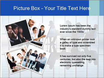 Silhouettes of business PowerPoint Template - Slide 23