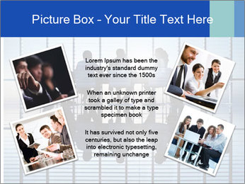 Silhouettes of business PowerPoint Template - Slide 24