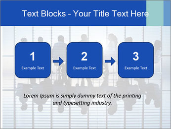 Silhouettes of business PowerPoint Template - Slide 71
