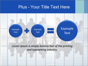 Silhouettes of business PowerPoint Template - Slide 75