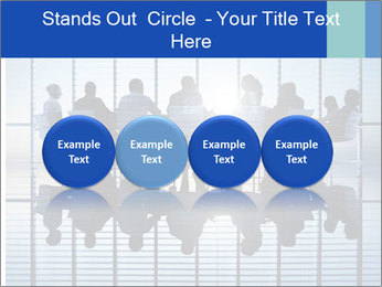 Silhouettes of business PowerPoint Template - Slide 76