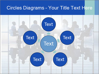Silhouettes of business PowerPoint Template - Slide 78