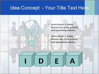 Silhouettes of business PowerPoint Template - Slide 80