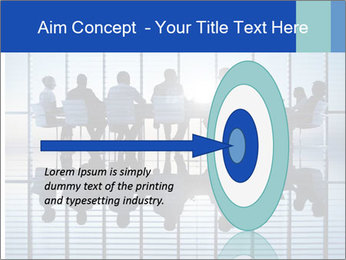 Silhouettes of business PowerPoint Template - Slide 83
