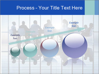 Silhouettes of business PowerPoint Template - Slide 87