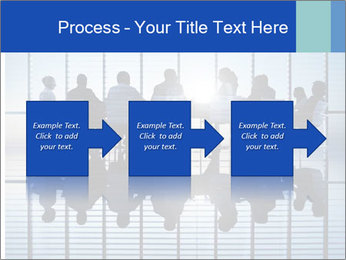 Silhouettes of business PowerPoint Template - Slide 88