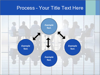 Silhouettes of business PowerPoint Template - Slide 91