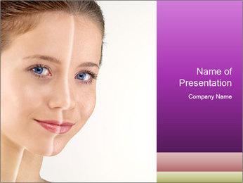Spotty skin PowerPoint Template