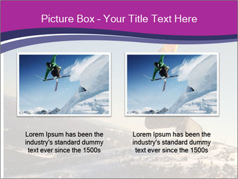 Snowboarder jumping PowerPoint Template - Slide 18