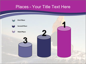 Snowboarder jumping PowerPoint Templates - Slide 65