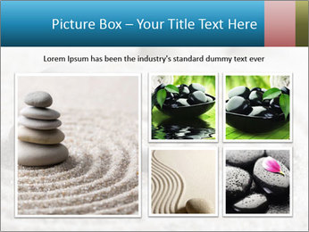 Meditation stone PowerPoint Template - Slide 19