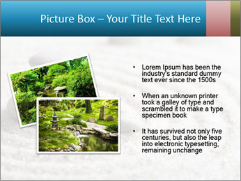 Meditation stone PowerPoint Template - Slide 20