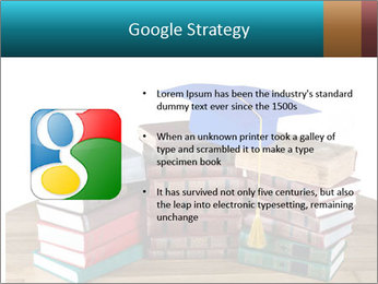 Stack of books PowerPoint Template - Slide 10