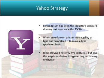 Stack of books PowerPoint Template - Slide 11