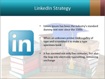 Stack of books PowerPoint Template - Slide 12
