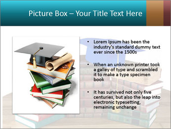 Stack of books PowerPoint Template - Slide 13