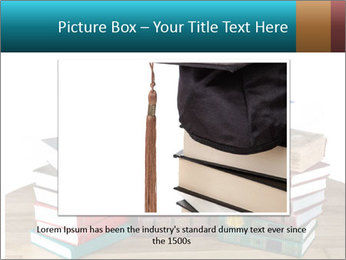 Stack of books PowerPoint Template - Slide 15