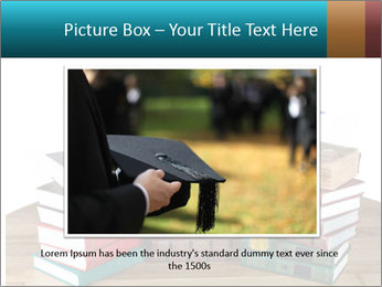 Stack of books PowerPoint Template - Slide 16