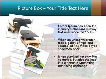 Stack of books PowerPoint Template - Slide 17