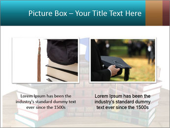 Stack of books PowerPoint Template - Slide 18