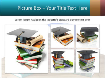 Stack of books PowerPoint Template - Slide 19