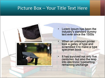 Stack of books PowerPoint Template - Slide 20