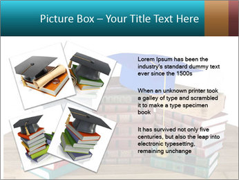Stack of books PowerPoint Template - Slide 23