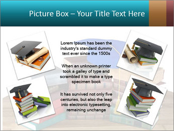 Stack of books PowerPoint Template - Slide 24