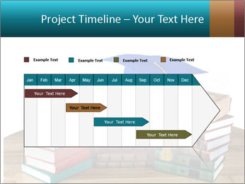Stack of books PowerPoint Template - Slide 25